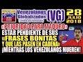 """(28/7/18) – Prioridades de Maduro: """"QUE PASEN EN CADENA SUS «FRASES BONITAS»"""""""
