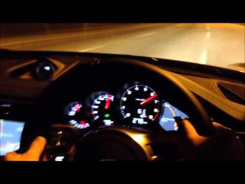 Porsche 991 Carrera S: Top Speed Run - YouTube