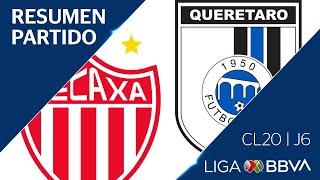 Resumen y Goles | Necaxa vs Querétaro | Jornada 6 - Clausura 2020  | Liga BBVA MX