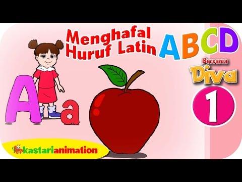 Menghafal Huruf Latin ABCD HD - Part 1   Kastari Animation Official