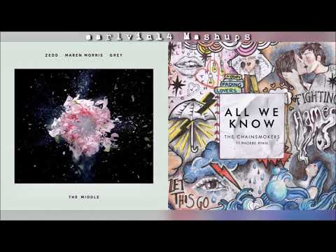 The Middle vs. All We Know (Mashup) - Zedd & The Chainsmokers - earlvin14 (OFFICIAL)