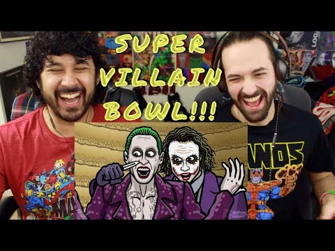 SUPER-VILLAIN-BOWL! - TOON SANDWICH - REACTION!!!