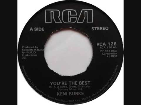 # KENI BURKE # YOU'RE THE BEST
