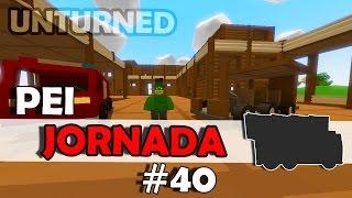 Unturned 3.0 - PEI Jornada #40 - Construindo o Carro!