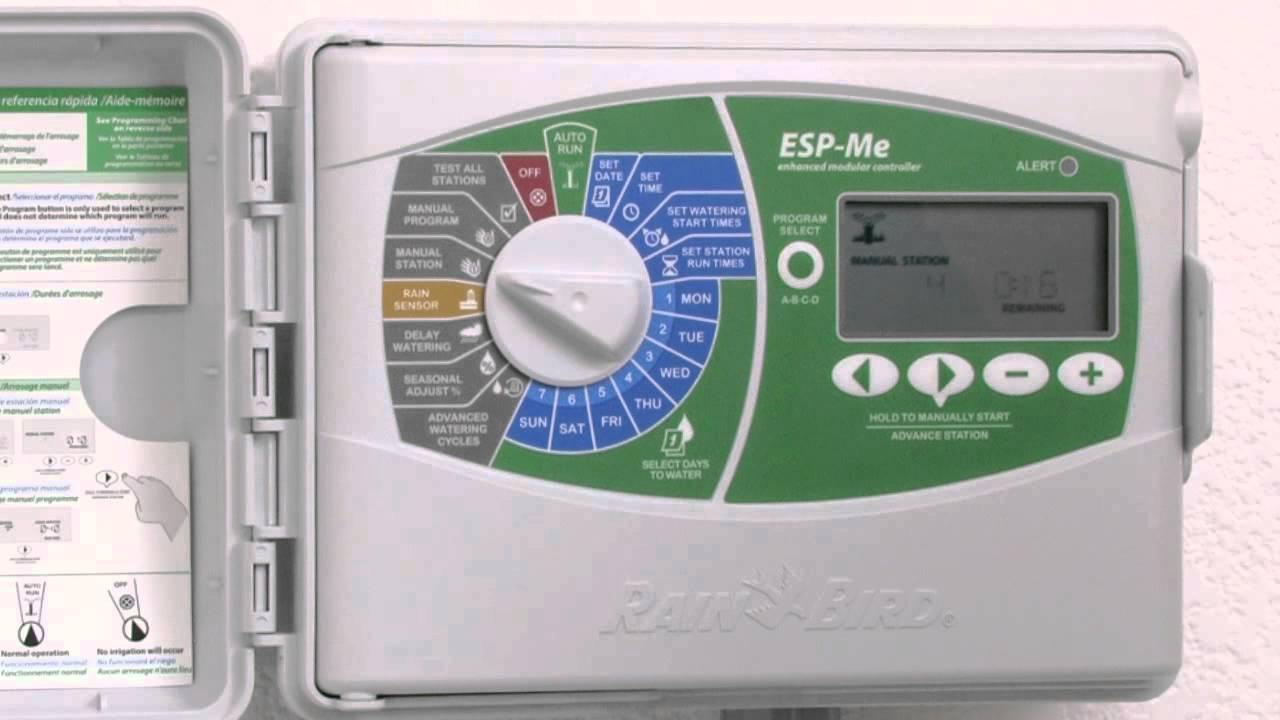 Rain Bird® ESP-Me: Run Manual Station / Iniciar riego manual