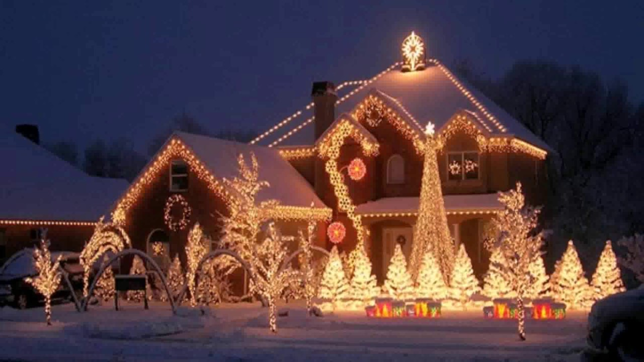 ranch style house christmas lights - How To Decorate A Ranch Style Home For Christmas