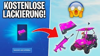 "Fortnite: Get free ""cuddly hearts"" livery! 💘 (Season 7 Event) 