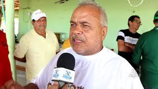 Vereador Valdir do Suburbão reuniu amigos para comemorar construção do cemitério no km 60