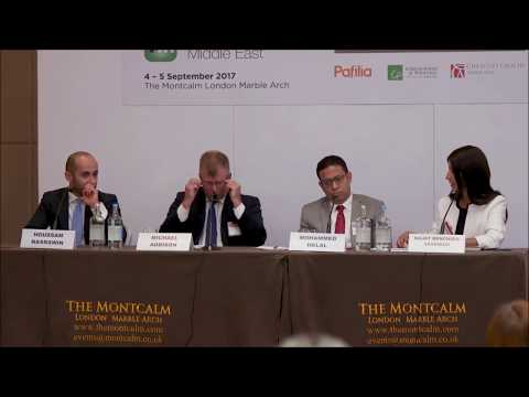 Houssam Nasrawin during the Private Investor Middle East forum in London