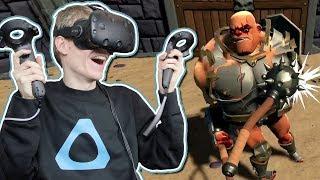 BRUTAL ENDLESS MODE! | Gorn VR: Piñata Mode (HTC Vive Gameplay)