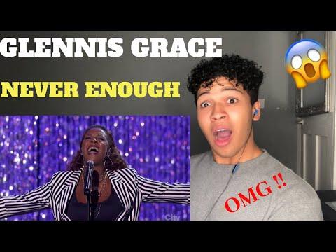"Glennis Grace Sing ""Never Enough"" | America's Got Talent 2018 | MY REACTION"