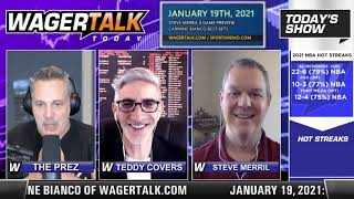 Daily Free Sports Picks | NHL Betting Tips and NBA Picks on WagerTalk Today | January 19