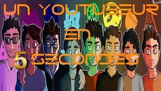 UN YOUTUBEUR EN 5 SECONDES:LE DISPARU !!!