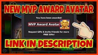 8 Ball Pool Free Avatar Link | Get Free MVP Award Avatar | Karan Gaming