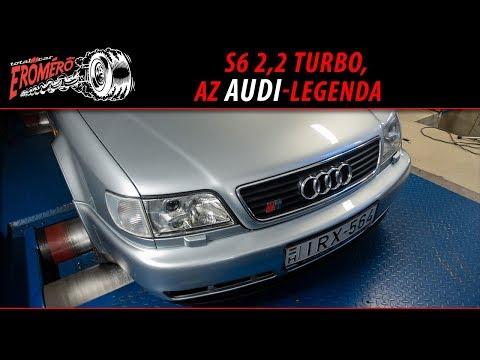 Totalcar Erőmérő: S6 2,2 turbo, az Audi-legenda [ENG SUB] thumbnail