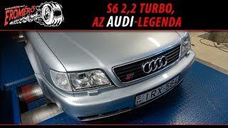 Totalcar Erőmérő: S6 2,2 turbo, az Audi-legenda [ENG SUB]