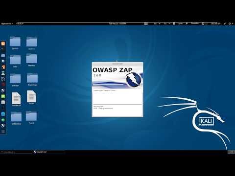 Owasp Zap | WAPT | Kali Linux 2017.1