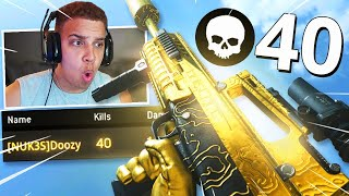 "40 KILL GAMEPLAY! OVERPOWERED ""ODEN"" Class Setup in Season 5!! (Modern Warfare Warzone)"