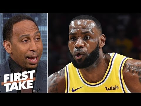 Stephen A. sticking with Lakers preseason prediction despite loss to Blazers | First Take