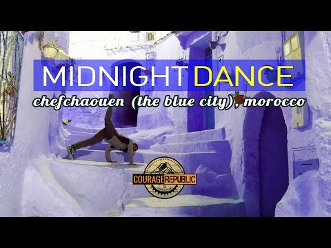 CHEFCHAOUEN: MIDNIGHT DANCE In The BLUE CITY, MOROCCO!