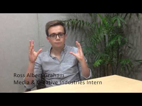 Meet Ross Graham - CRCC Asia 2014 Media & Creative Industries Intern in Shenzhen