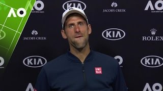 Novak Djokovic press conference (2R) Australian Open 2017