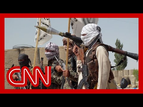 CNN reporter enters US base captured by the Taliban. See what she found
