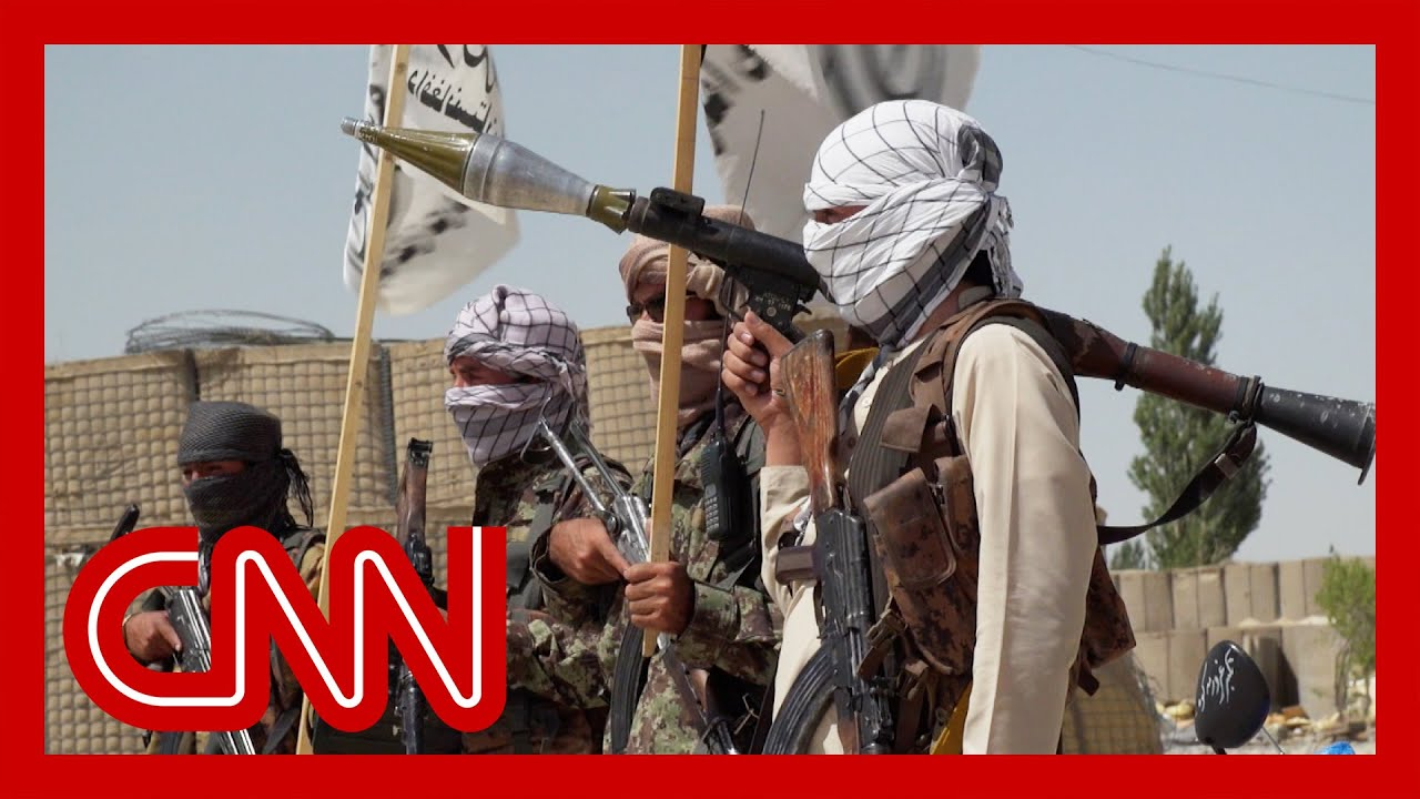 Download CNN reporter enters US base captured by the Taliban. See what she found