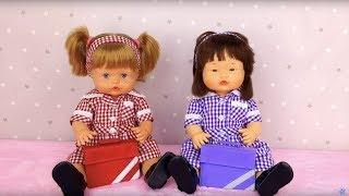 Muñecas bebes Nenuco Ani y Ona ESTRENAN UNIFORMES thumbnail