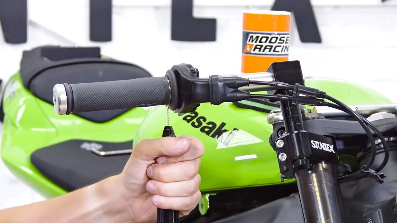 Adj Clip On Installation Ninja Zx6r Stunt Bike Youtube