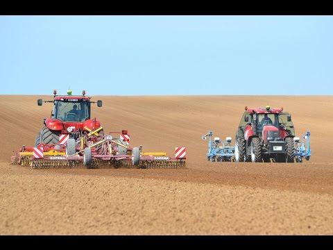ETA VOET: Préparation et semis de colza dans la Marne en 2015