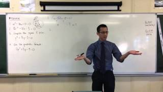5.3 Quadratics: Quick Questions #5