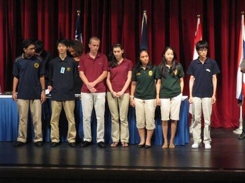 IASAS Original Oratory Finals Taipei, 2010