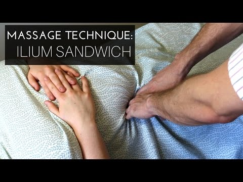 Massage Technique: Myofascial release for the anterior/lateral pelvis