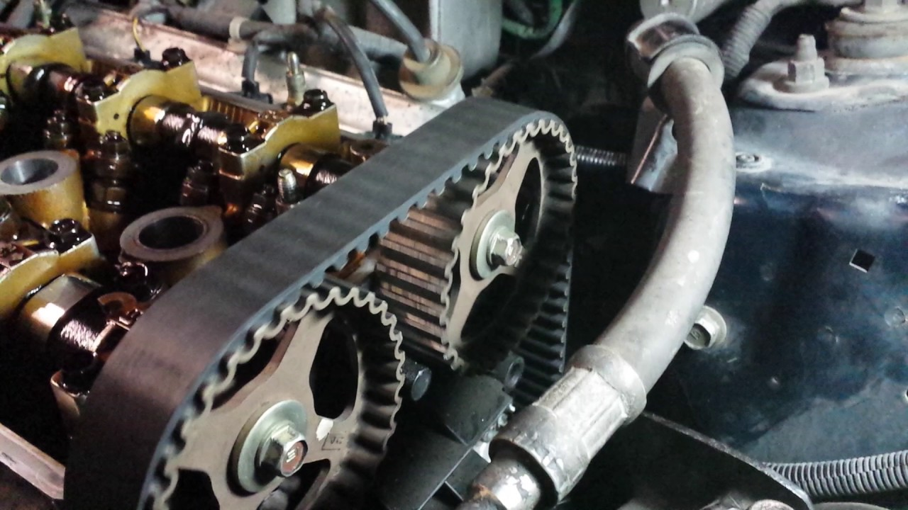 1998 honda cr v b20b timing belt slack [ 1280 x 720 Pixel ]