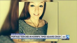 Friends remember Portage woman killed in Times Square crash