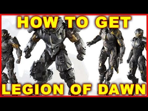 Anthem: How to Get Legion of Dawn Armor & Weapon (REDEEM DLC)