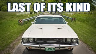 the LAST Vanishing Point Challenger - 1970 Dodge Challenger RT HEMI