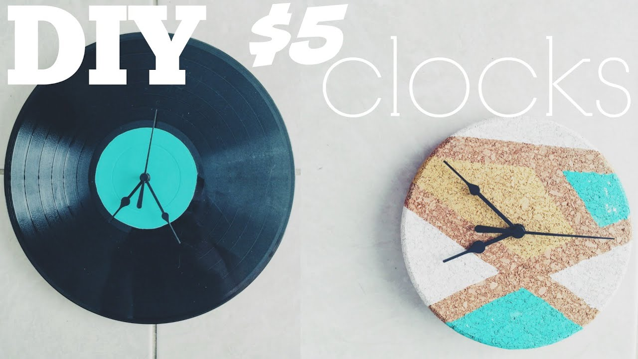 Diy Clocks Youtube