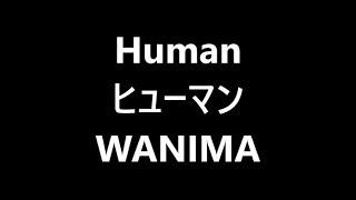 HUMAN / WANIMA Japanese song ( Lyrics ) words : KENTA ヒューマン / ...