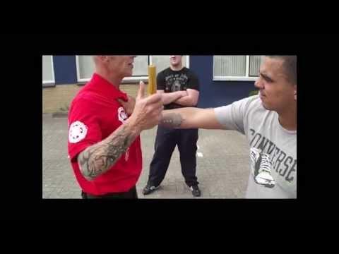 Police And Security Baton Short Stick Self Defense Tech
