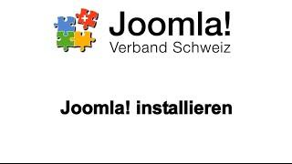 Lernvideo Joomla! installieren
