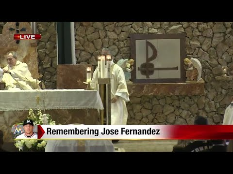 Funeral of Jose Fernandez