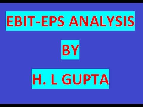 EBIT   EPS  ANALYSIS CLASS 1