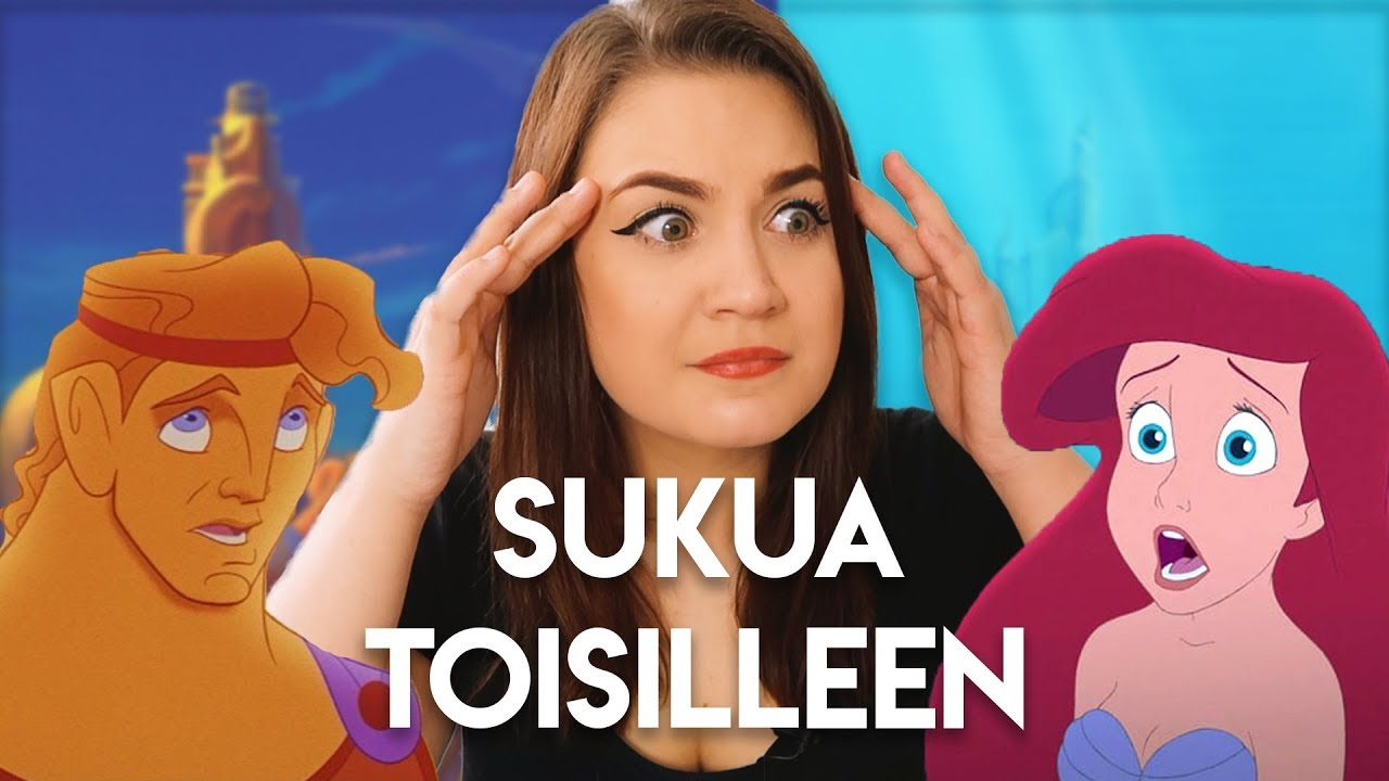 Disney Prinsessa suku puoli video