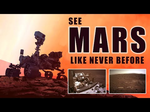 See Mars Like Never Before! NASA's Perseverance Rover Sends New Images from Mastcam