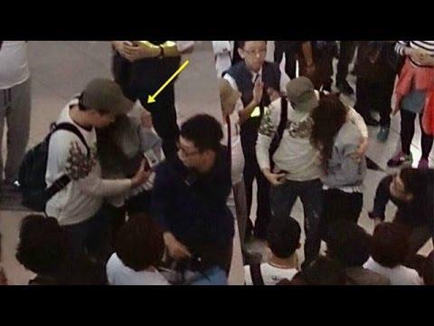 少女時代ジェシカ 空港で負傷
