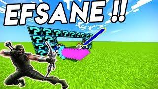 EFSANE FİGHT !! EN İYİ LUCKY BLOCK SAVAŞI - Minecraft Ferm Şans bloğu