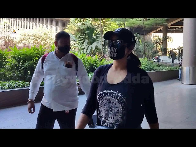 Sonakshi Sinha Spotted At Airport Arrival