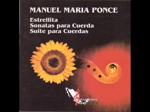 Manuel M. Ponce: Sonata for cello and piano